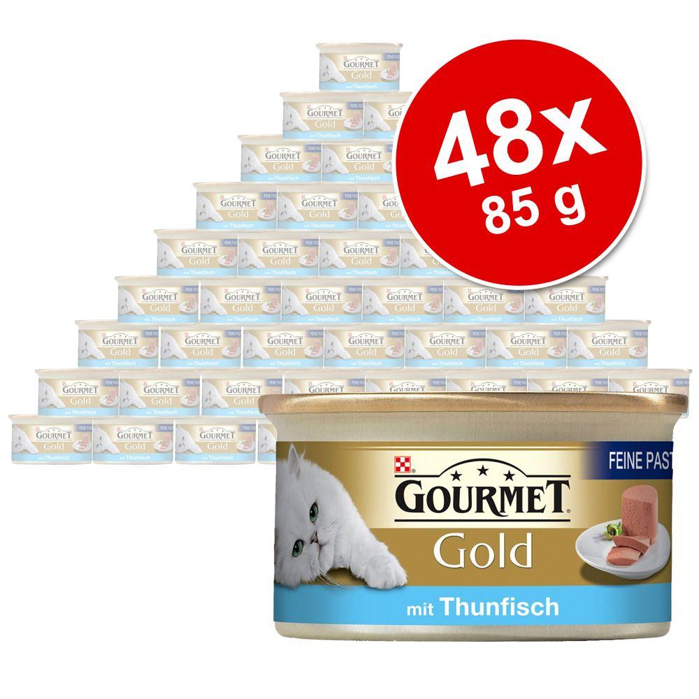 Megapakiet Gourmet Gold Mus, 48 x 85 g - Kurczak