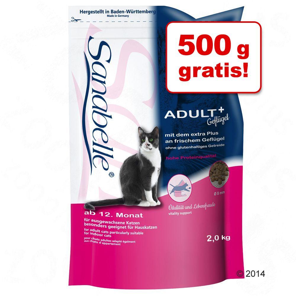 1,5 kg + 500 g gratis! 2 kg Sanabelle Trockenfutter - No Grain Fasan