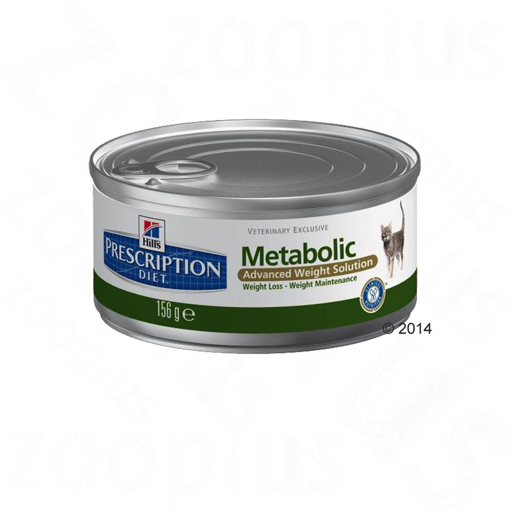 Hill's Prescription Diet Feline - Metabolic - 12 x 156g cans