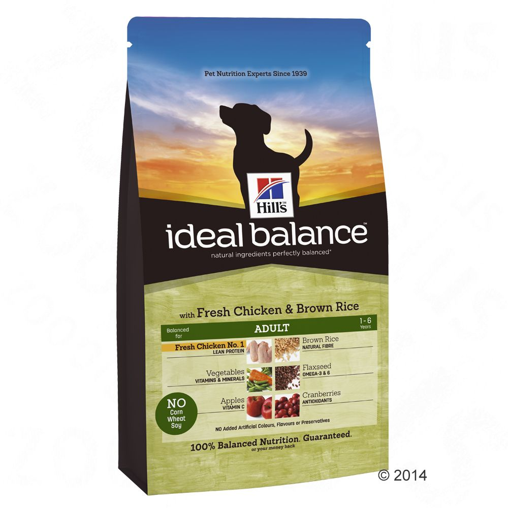 hill-canine-ideal-balance-adult-csirke-rizs-2-x-12-kg