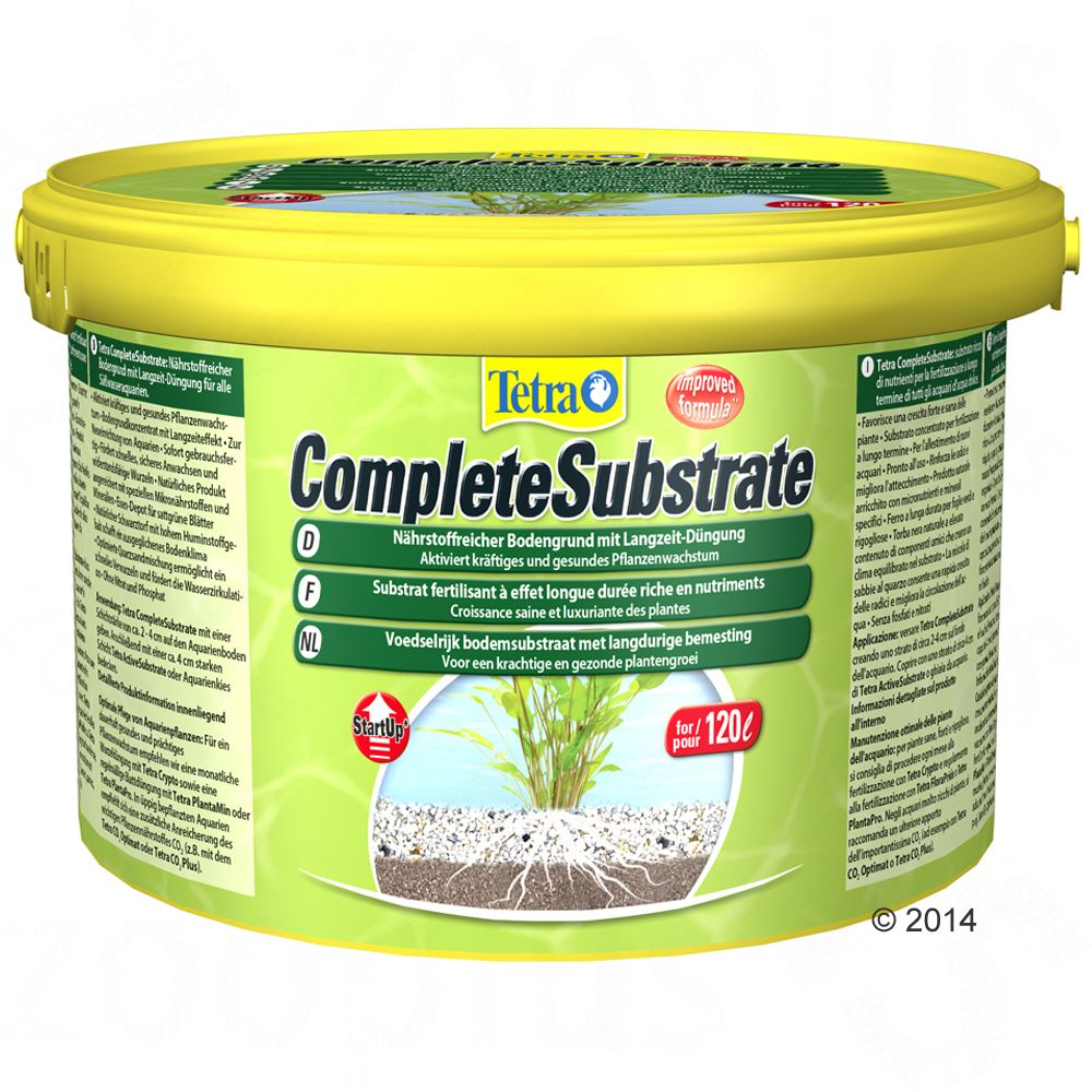 Tetra Complete Substrate Podłoże akwaryjne - 5 kg, do akwarium 120 l