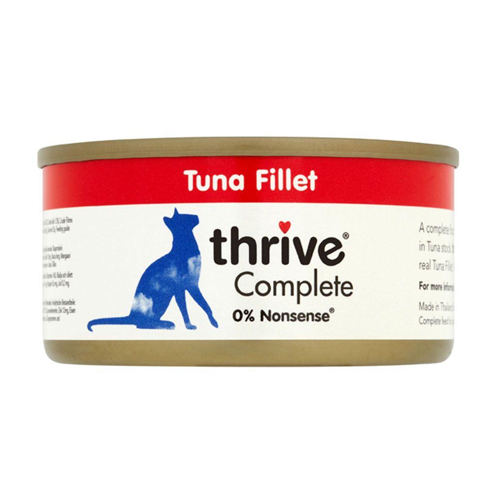 24x75g Tuna Filet thrive Complete Wet Cat Food