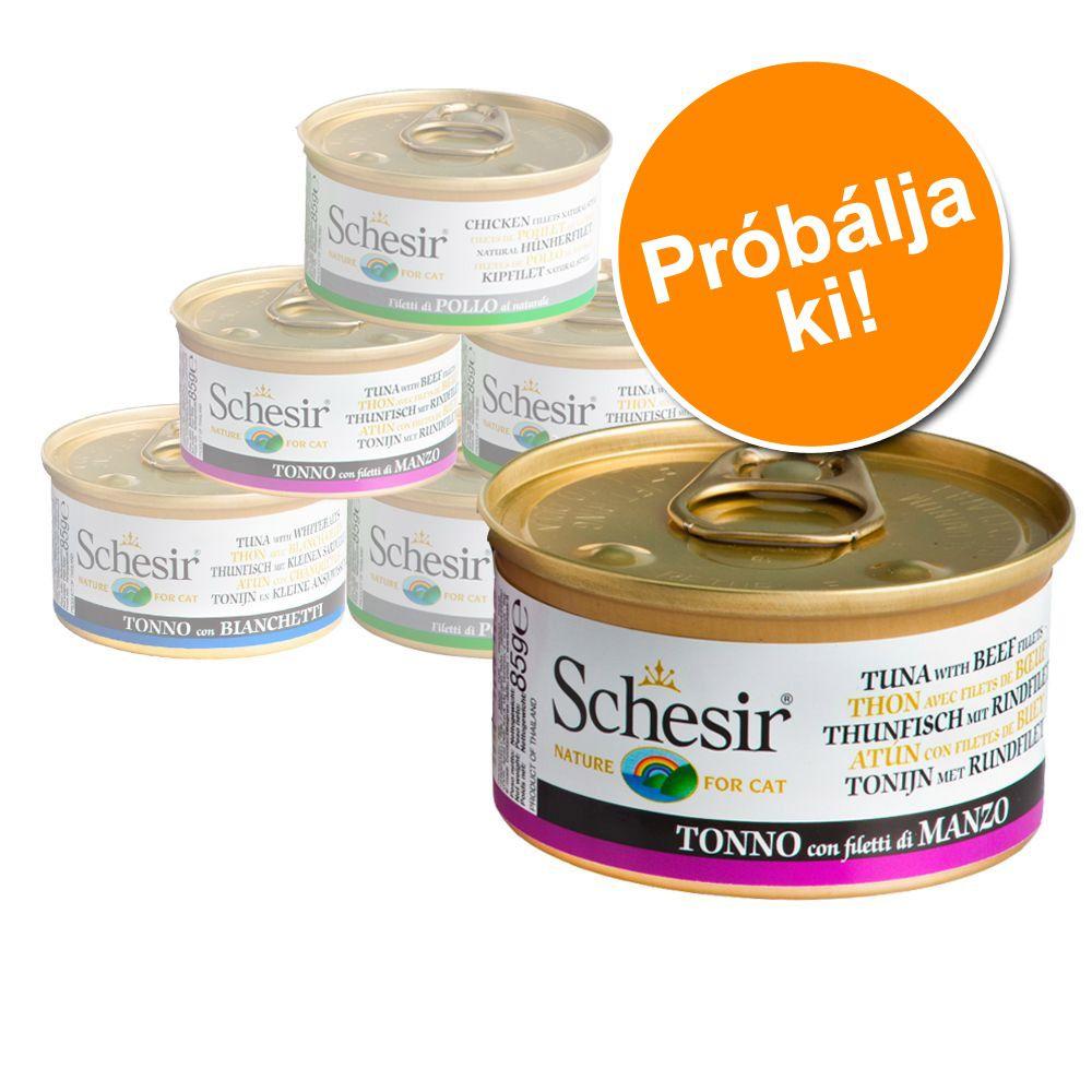 schesir-variaciok-probacsomag-6-x-70-g-75-g-85-g-csirke-aszpikban-csomag-6-x-85-g