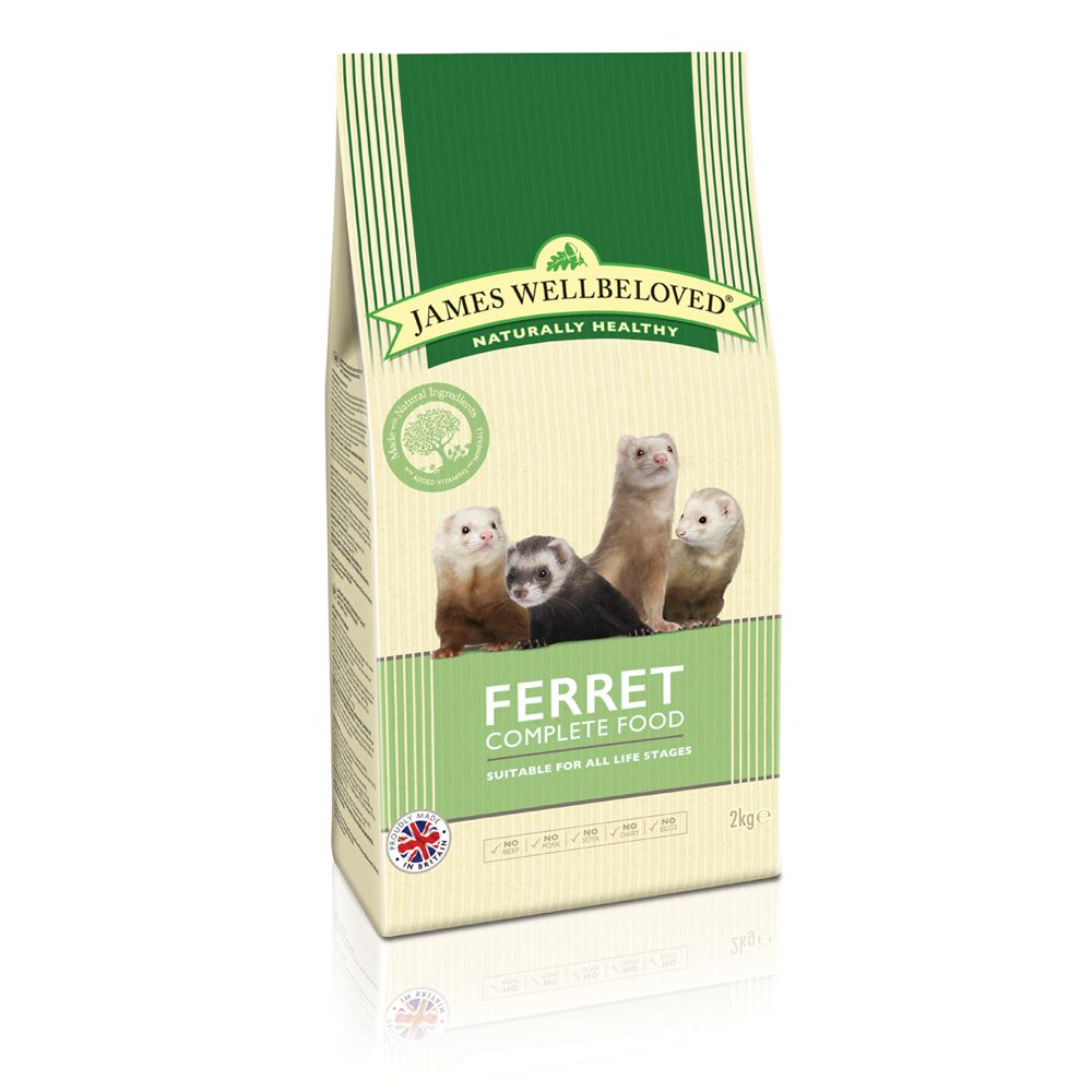 Turkey James Wellbeloved Ferret Complete Dry Food