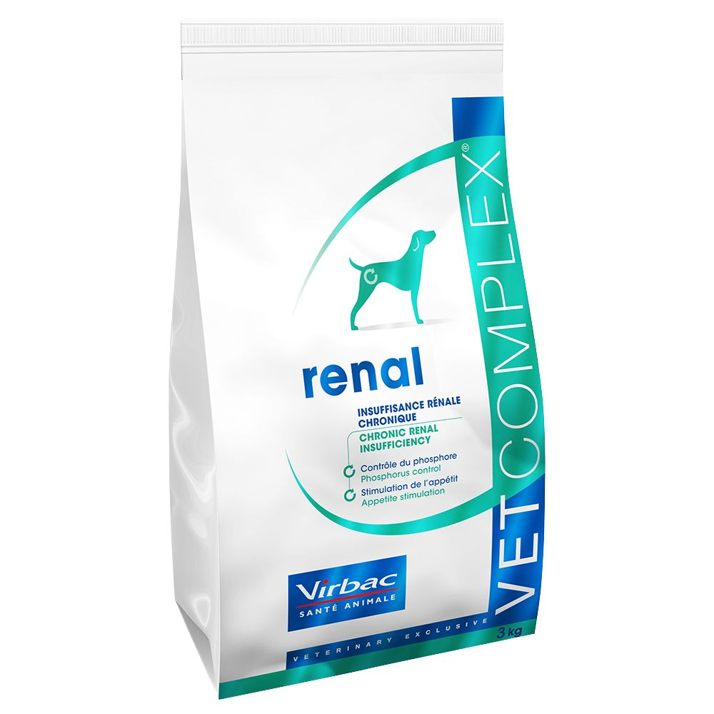 Virbac Vetcomplex Canine Senior Cardio Renal - Economy Pack: 2 x 7.5kg