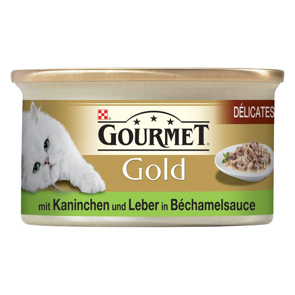 Gourmet Gold Delicacies in Sauce 12 x 85g - Duck & Turkey