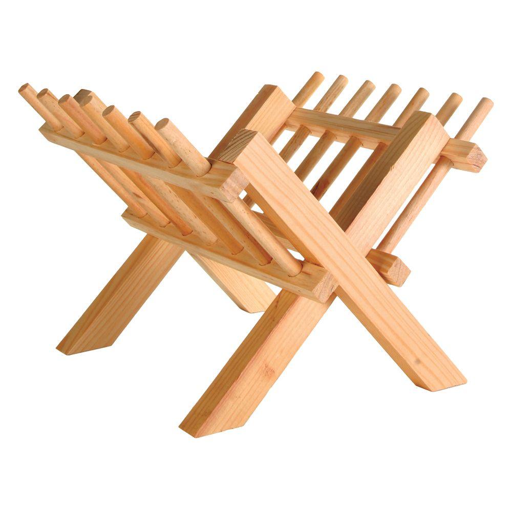 Wooden Hay Rack - 23 x 26 x 17 cm