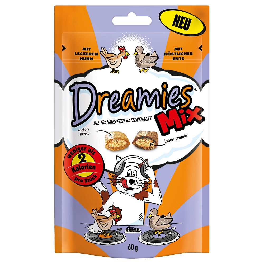 Snack Catisfactions Mix - Pollo & Anatra - Set risparmio: 3 x 60 g