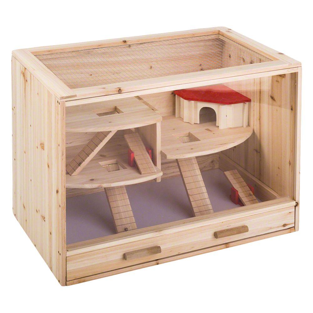 Loft Wooden Cage