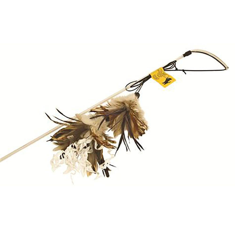 Crunchy Feather Cat Dangler - approx. 80cm