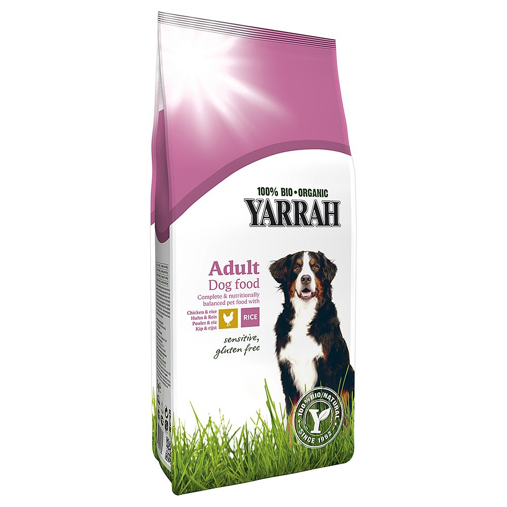 Yarrah Organic Sensitive with Chicken & Rice - Economy Pack: 2 x 10kg