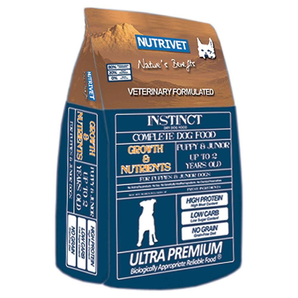 Foto Nutrivet Instinct Growth & Nutrients - 12 kg