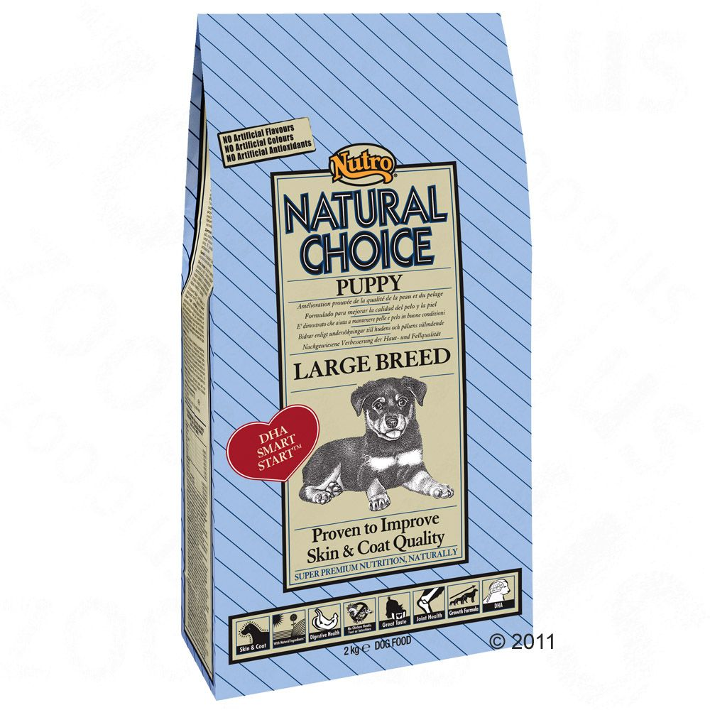 Nutro Choice Puppy Large Breed Hundefutter - 12 kg