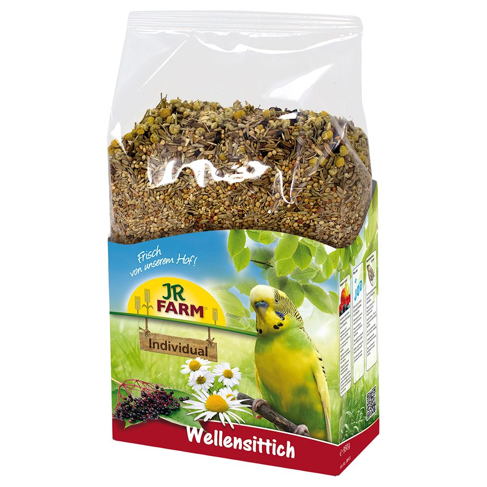 JR Farm Individual Budgie Food - Economy Pack: 2 x 1kg