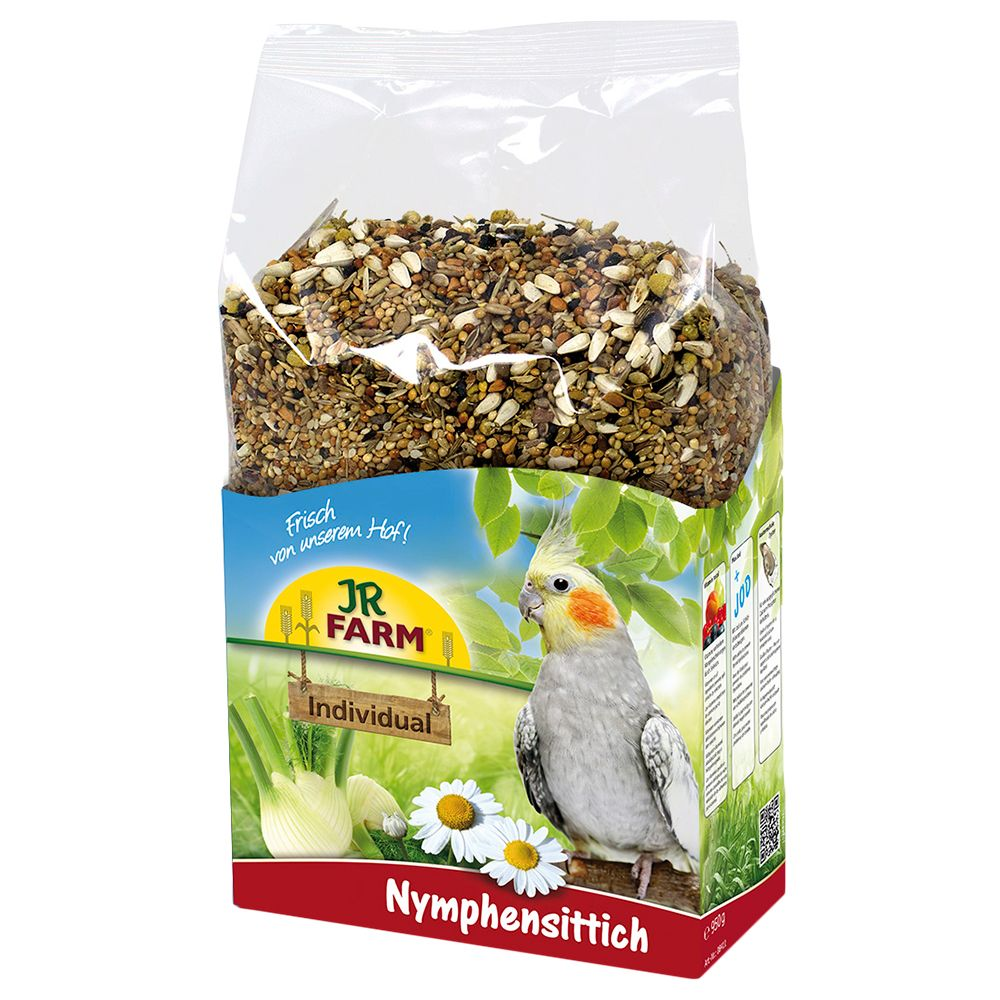 2x1kg JR Birds Individual Cockatiel Bird Food