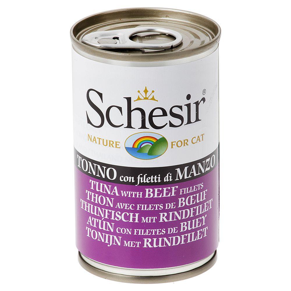 Schesir 6 x 140g - Tuna with Papaya