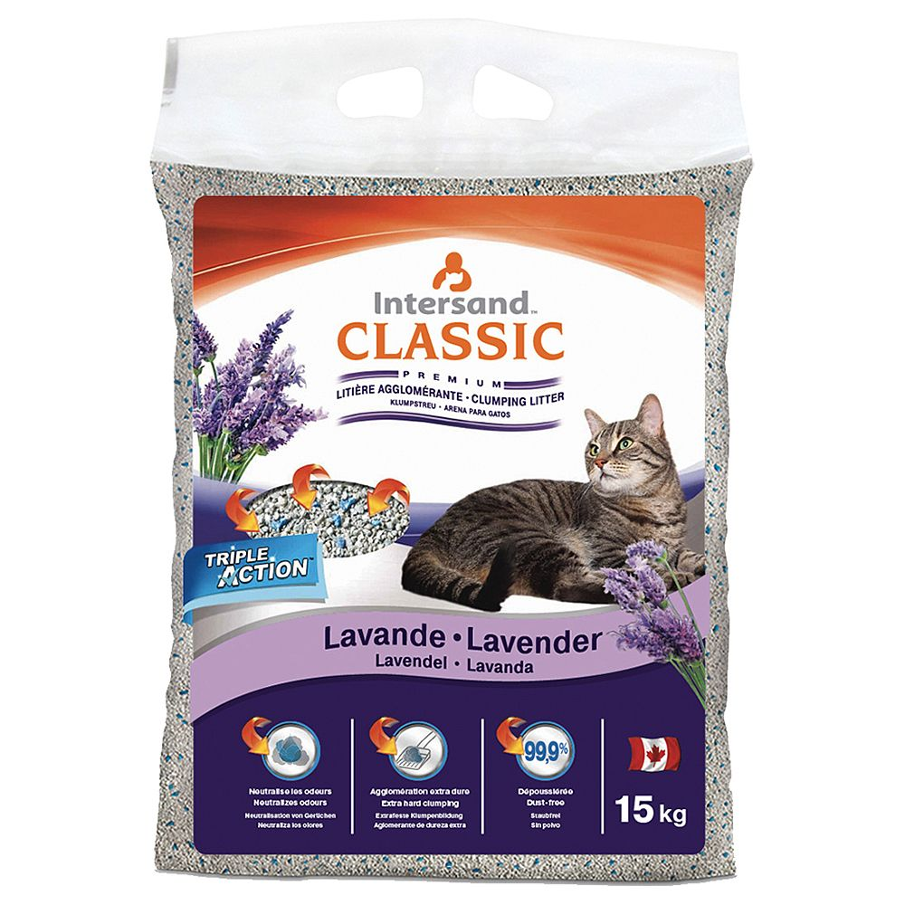 Extreme Classic Lavender Scented Cat Litter - 15kg