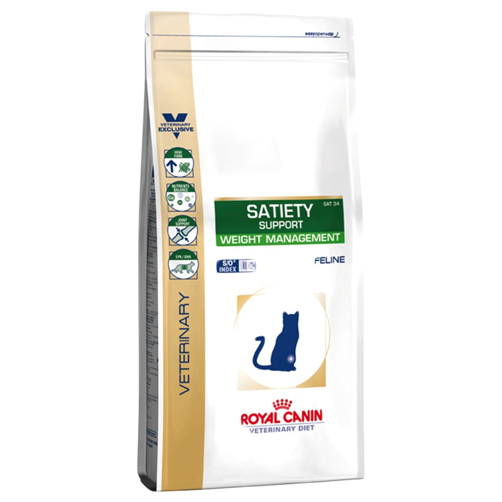 Royal Canin Satiety Support SAT 34 - Veterinary Diet Cat - Ekonomipack: 2 x 3,5 kg