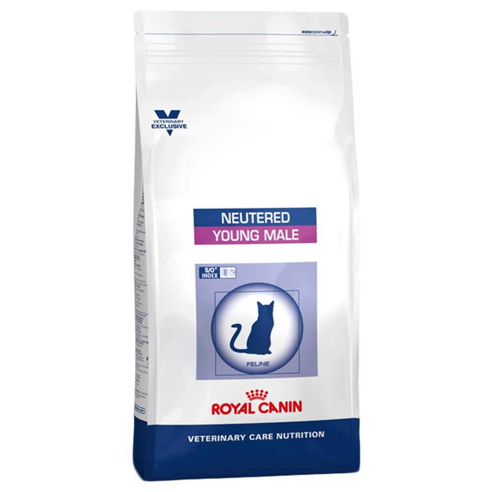 Royal Canin Vet Care Nutrition Cat - Neutered Young Male - Economy Pack: 2 x 10kg