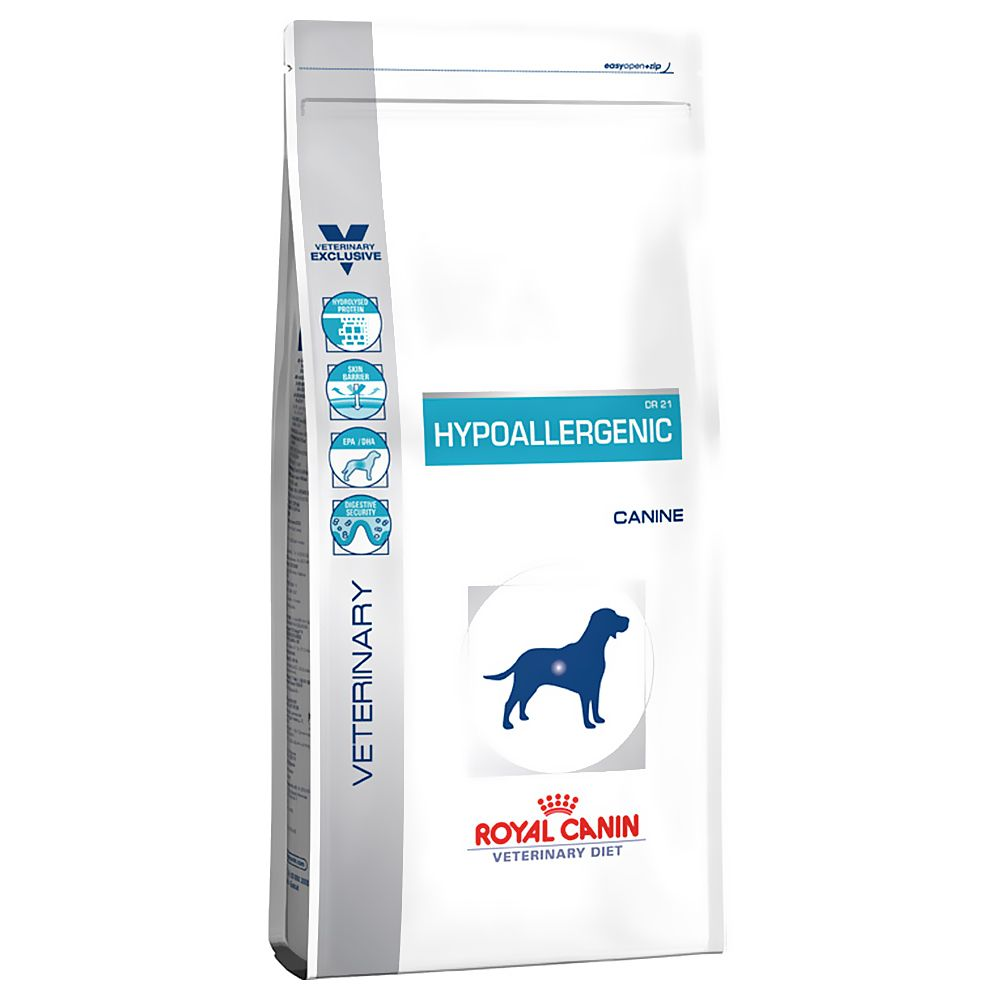 Foto Royal Canin Hypoallergenic DR 21 Veterinary Diet - 14 kg Royal Canin Veterinary Diet Allergie e intolleranze