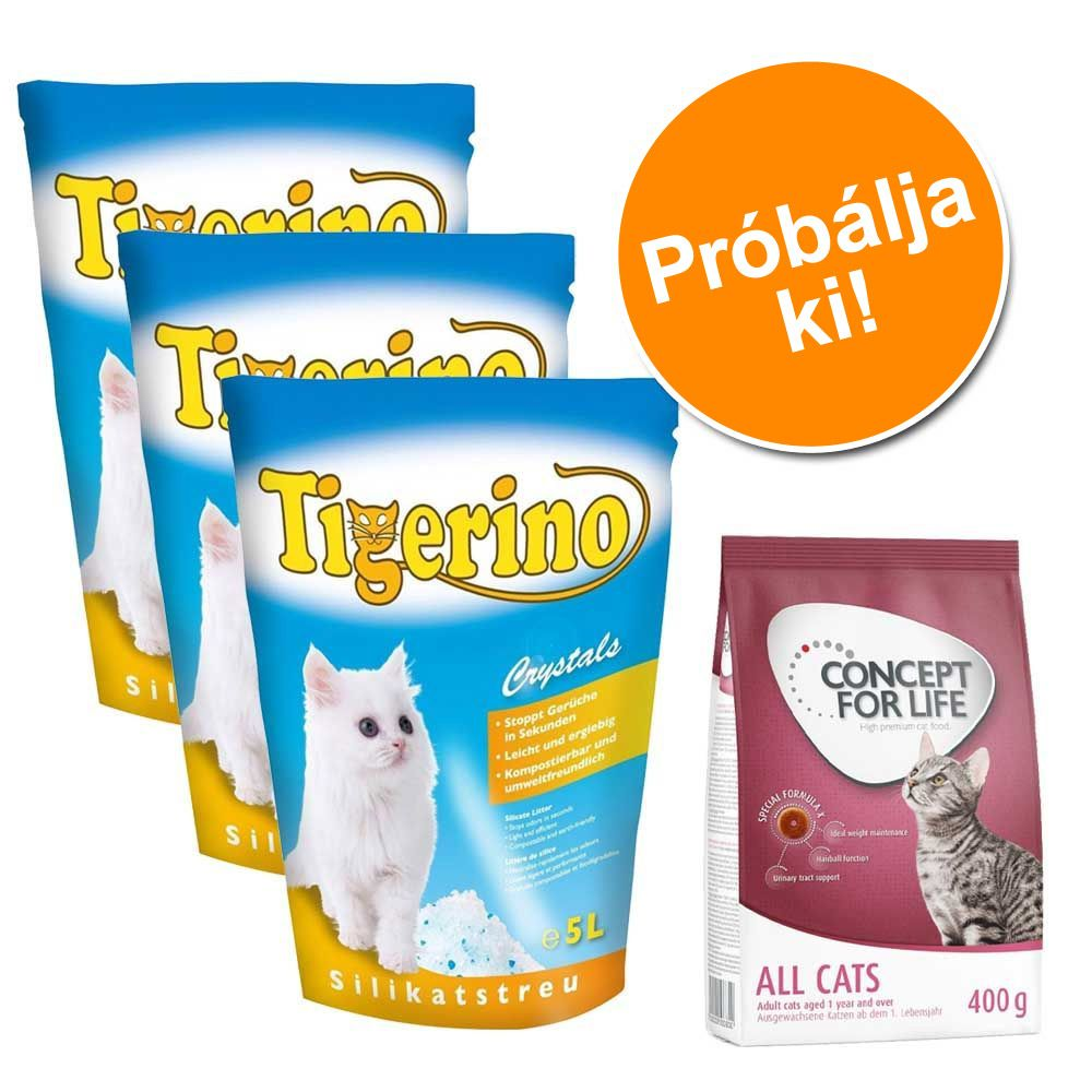 probacsomag-3-x-5-l-tigerino-alom-400-g-concept-for-life-tigerino-maine-coon-adult