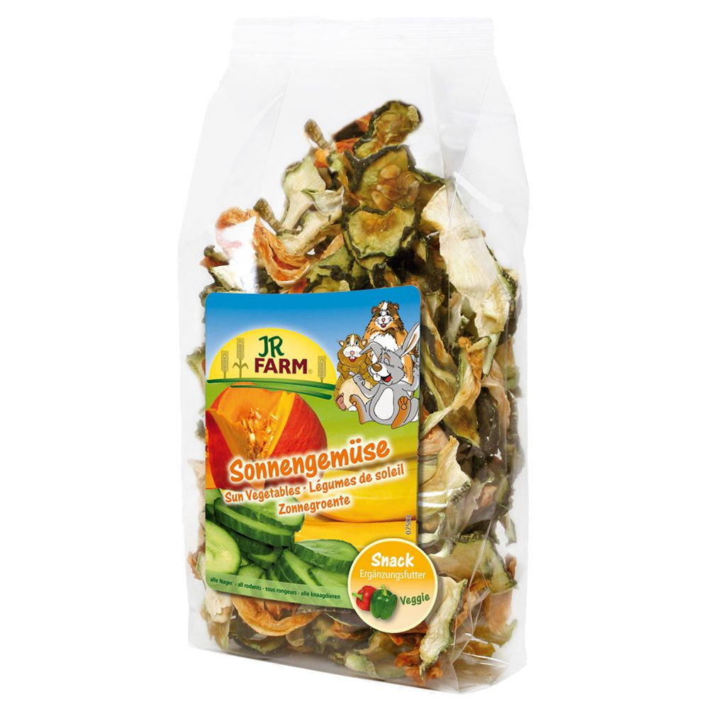 JR Farm Sun-Ripened Vegetable Mix - Saver Pack: 3 x 200g