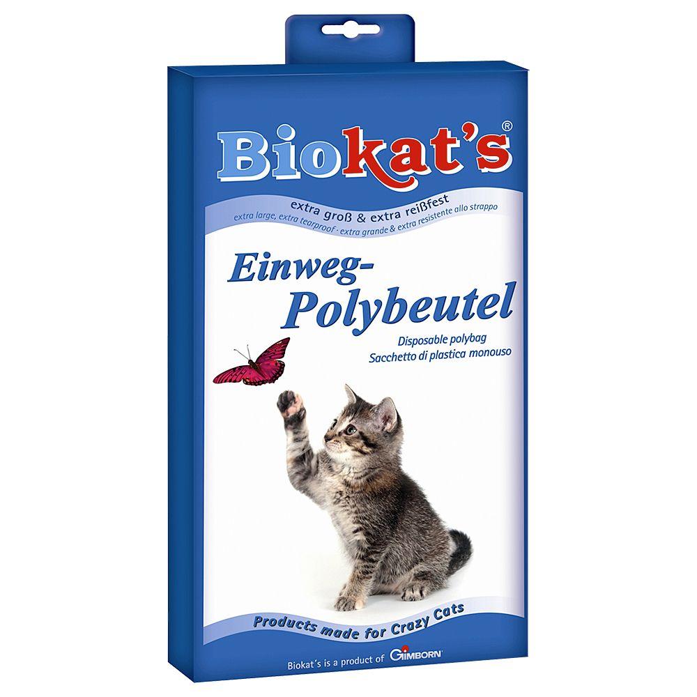 Biokat´s Einweg-Polybeutel für Katzentoiletten - 12 Stück