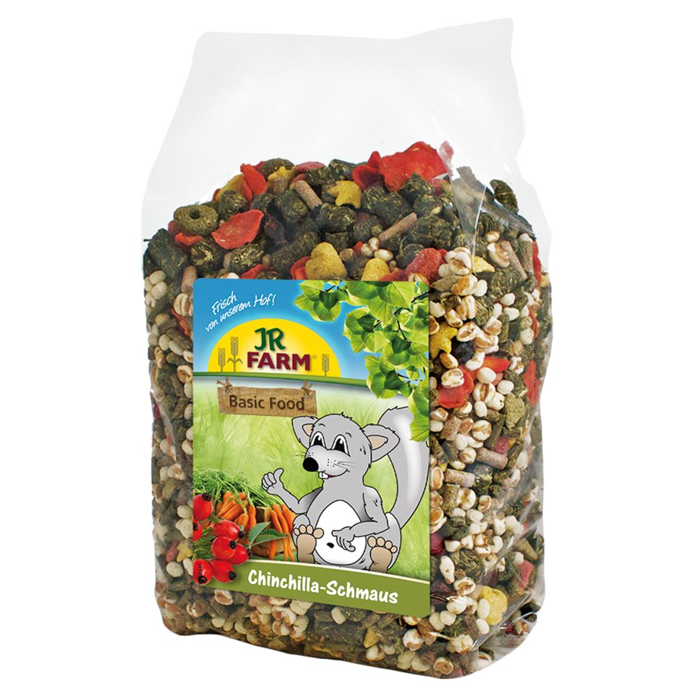 JR Farm Feast for Chinchillas - 1.2kg