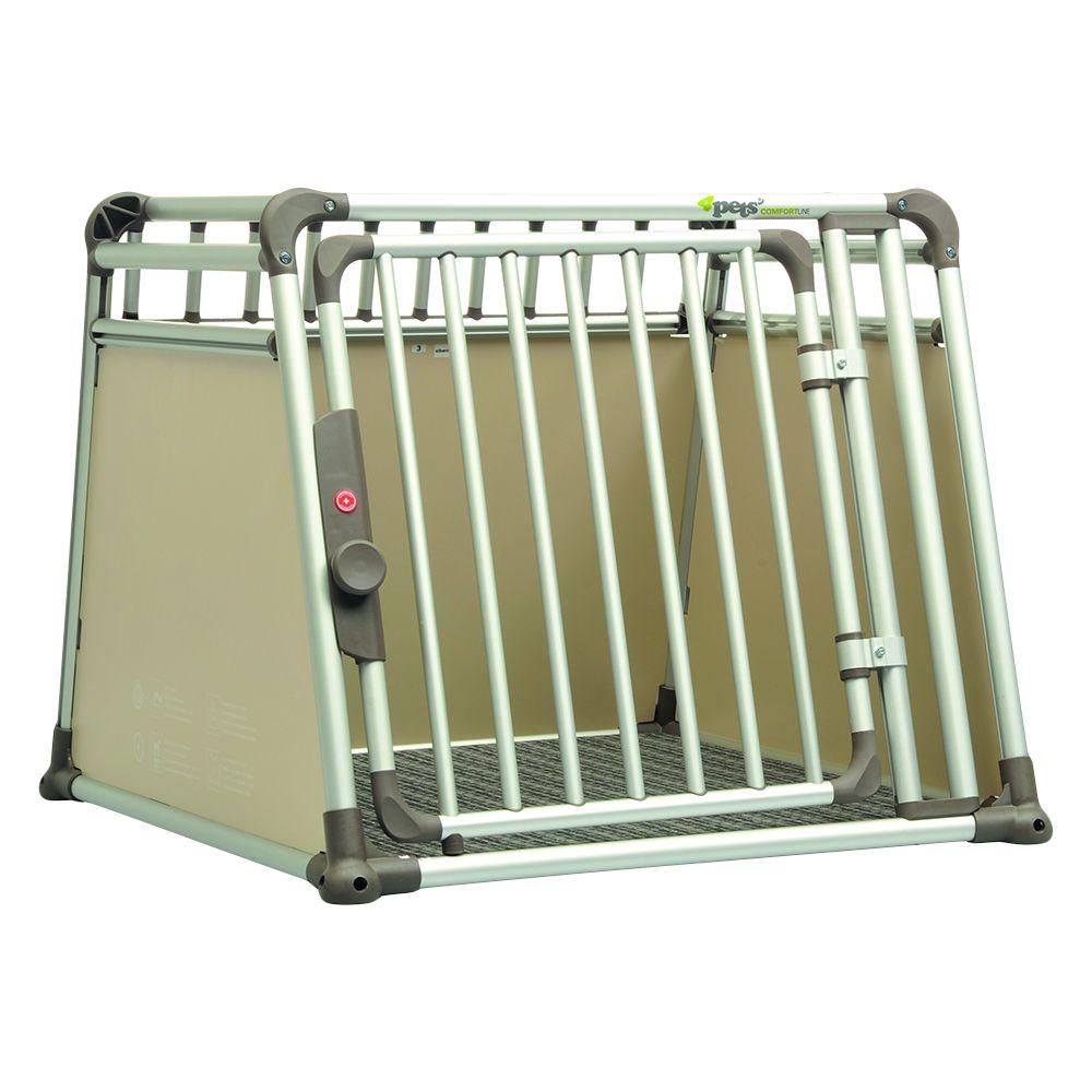 4pets Dog Crate ComfortLine four – Size M: 83.5 x 81.5 x 69.5 cm (L x W x H)