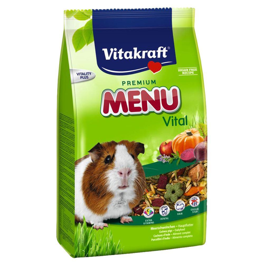Vitakraft Menu Vital for Guinea Pigs - Economy Pack: 2 x 5kg