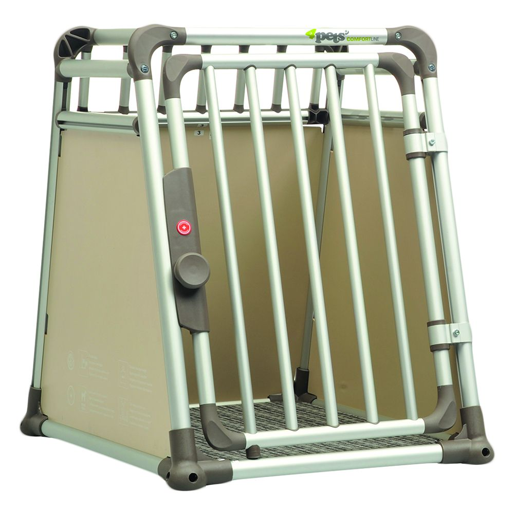 4pets Dog Crate ComfortLine two – Size S: 73.5 x 54.5 x 68.6 cm (L x W x H)