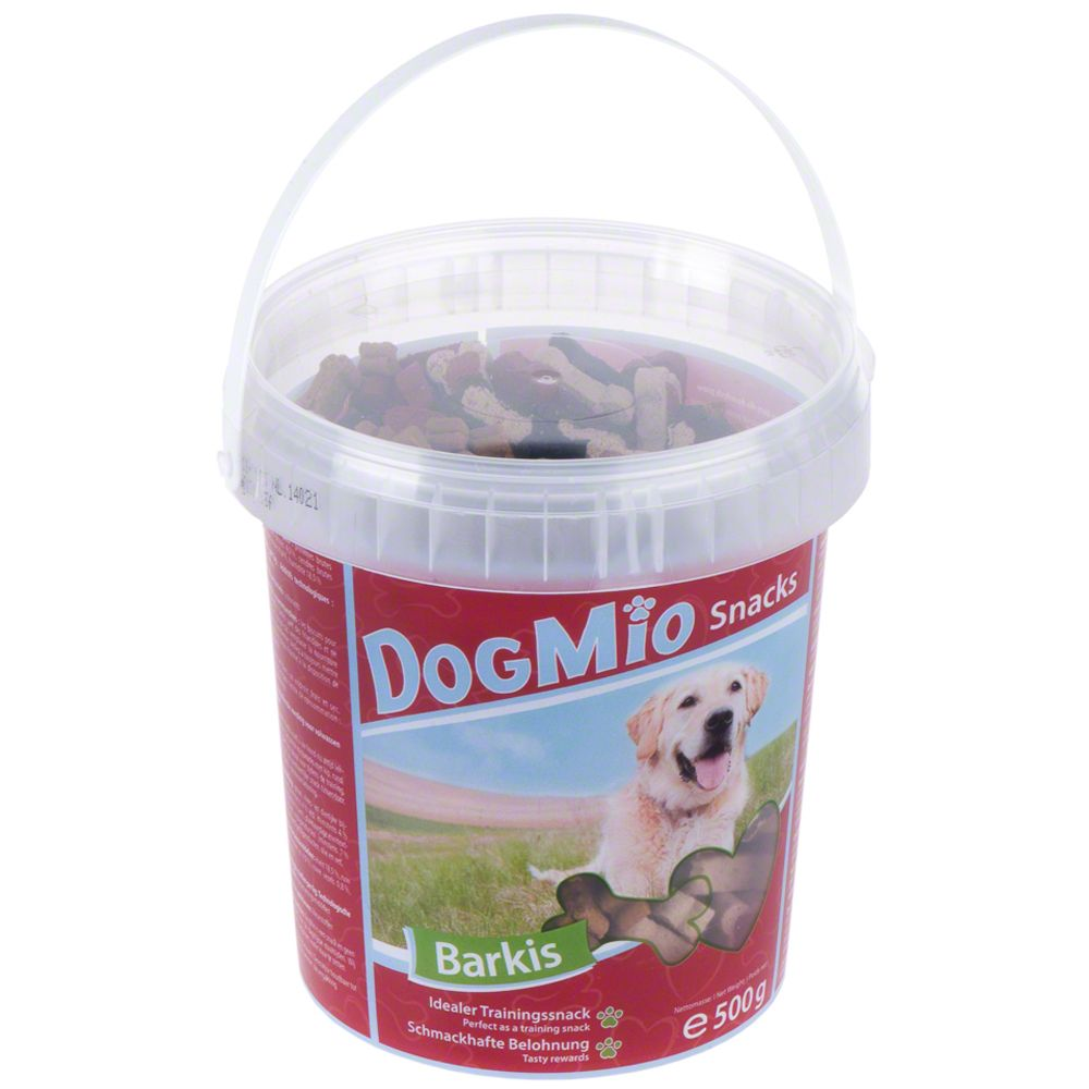 500g DogMio Barkis Dog Treats Tub