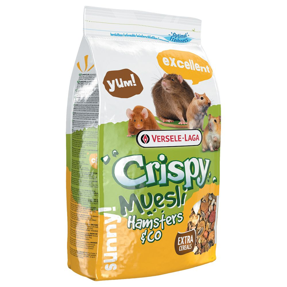 Versele-Laga Crispy Müsli Hamsters & Co - 2 x 2...