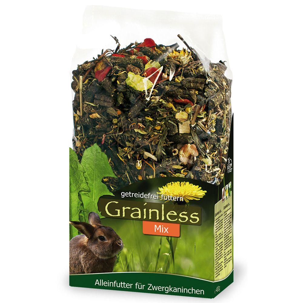 JR Grainless Mix Zwergkaninchen - 2 x 1,7 kg