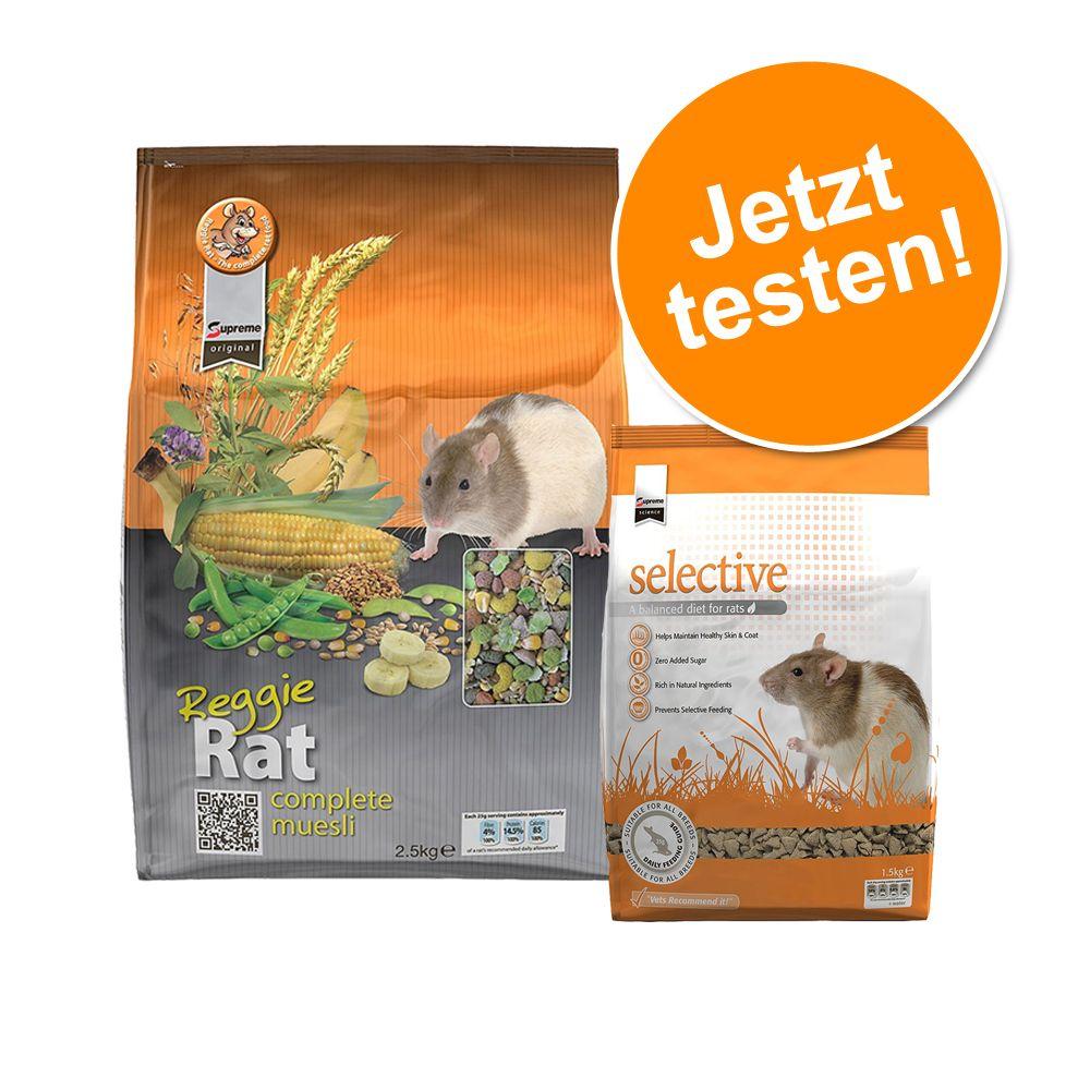 Probierset für Ratten: 2,5 kg + 1,5 kg - Probierset