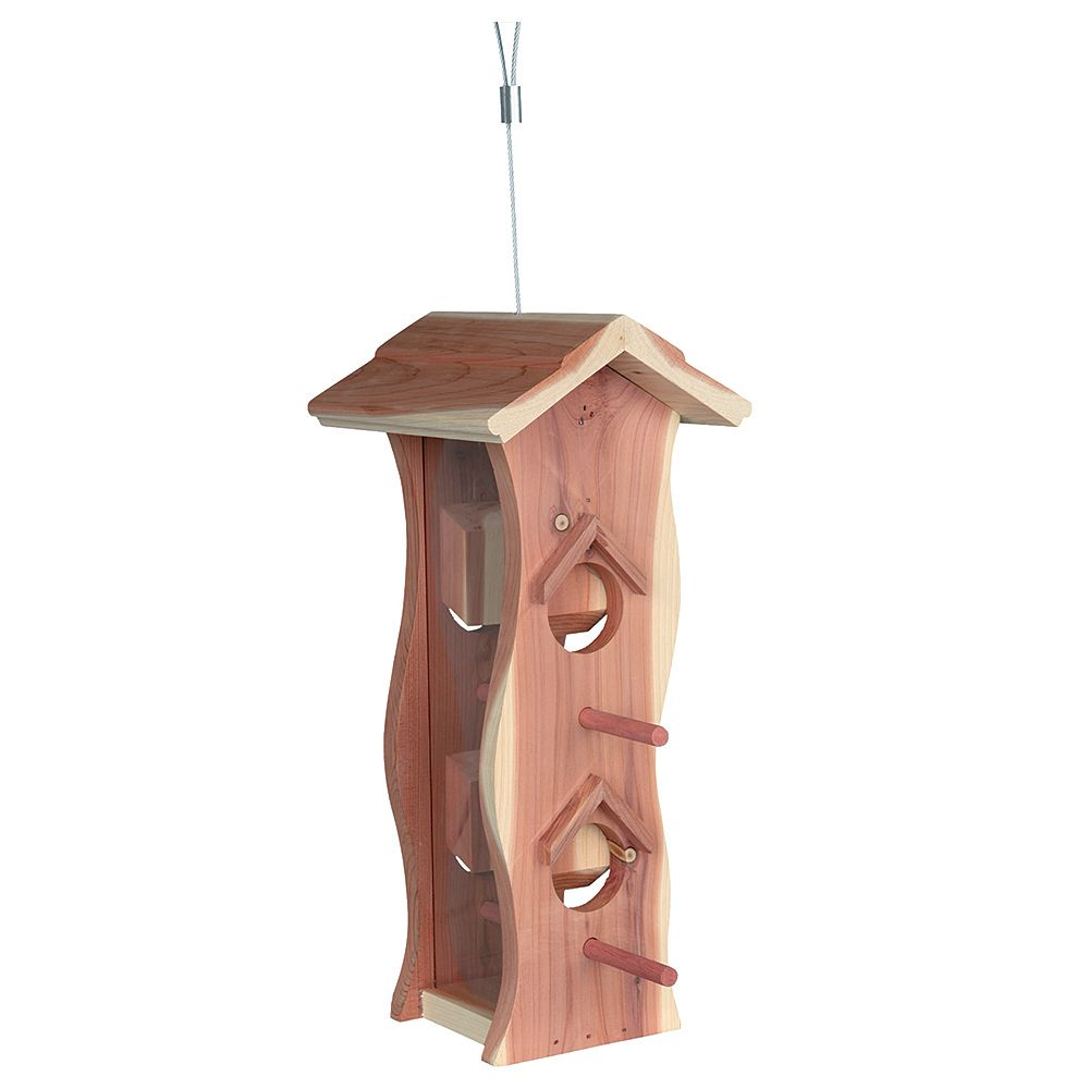 Trixie Bird Feeder - 4 Perches & Feeding Holes