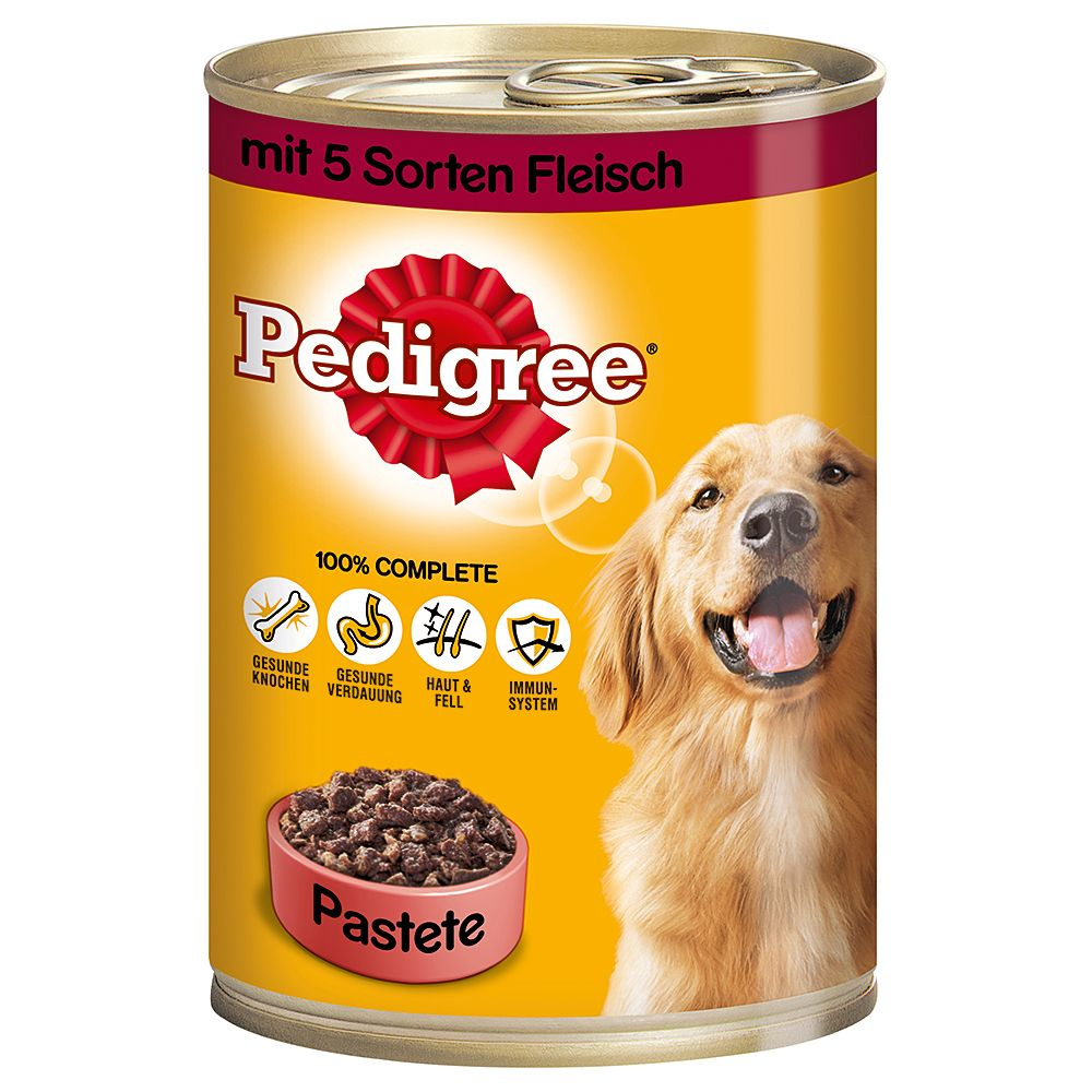 Pedigree Adult Classic 12 x 400g - 3 Poultry Selection