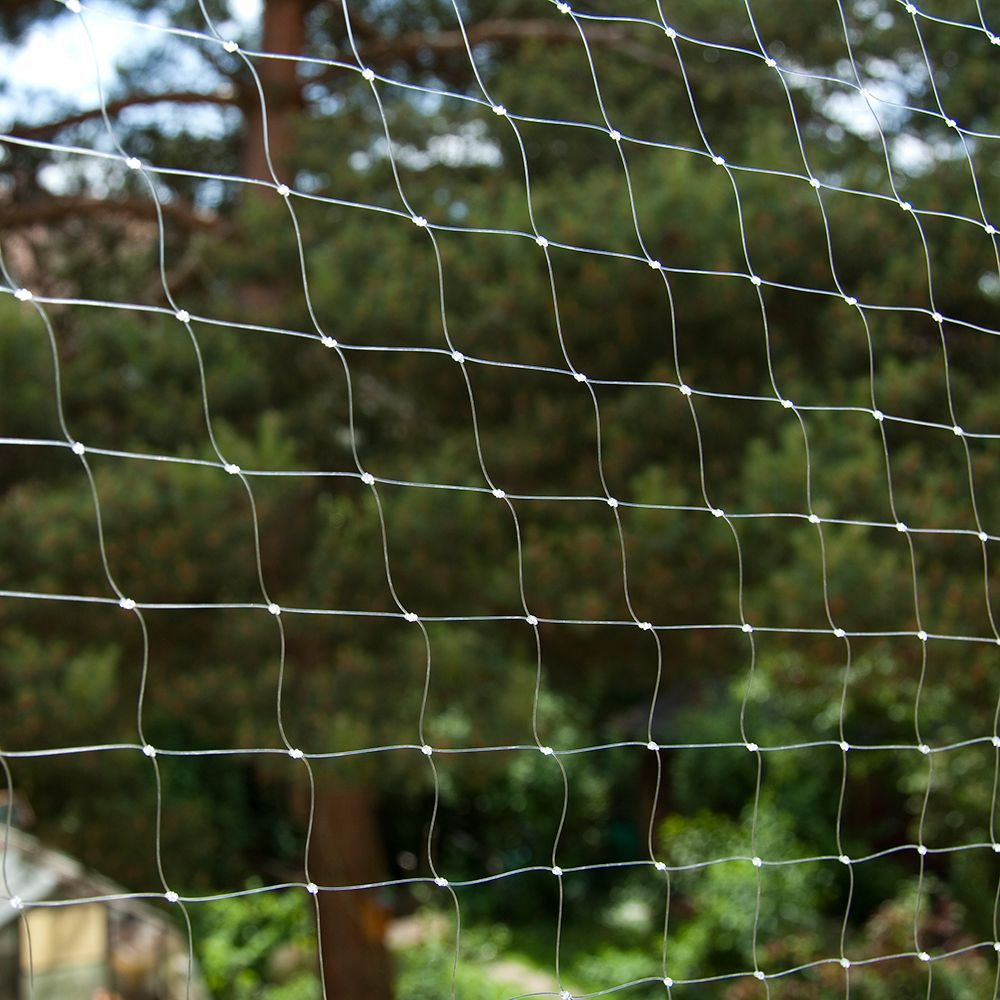 Cat Safety Net - Transparent - 4 x 3 m