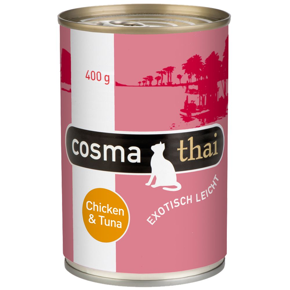 400g Cosma Thai in Jelly Wet Cat Food