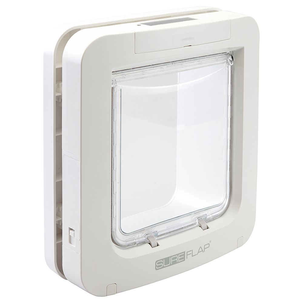 INOpets.com Anything for Pets Parents & Their Pets SureFlap Microchip Pet Door - Brown Pet Door