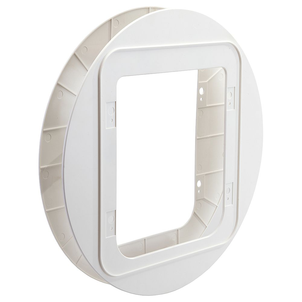 SureFlap Mounting Adaptors - Mounting Adaptor for Sureflap Pet Door (White)