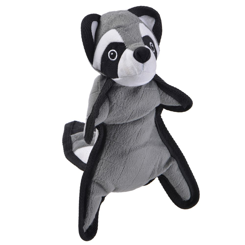 Real Tuff Raccoon Dog Toy - approx. 40 x 14 x 9 cm (L x W x H)
