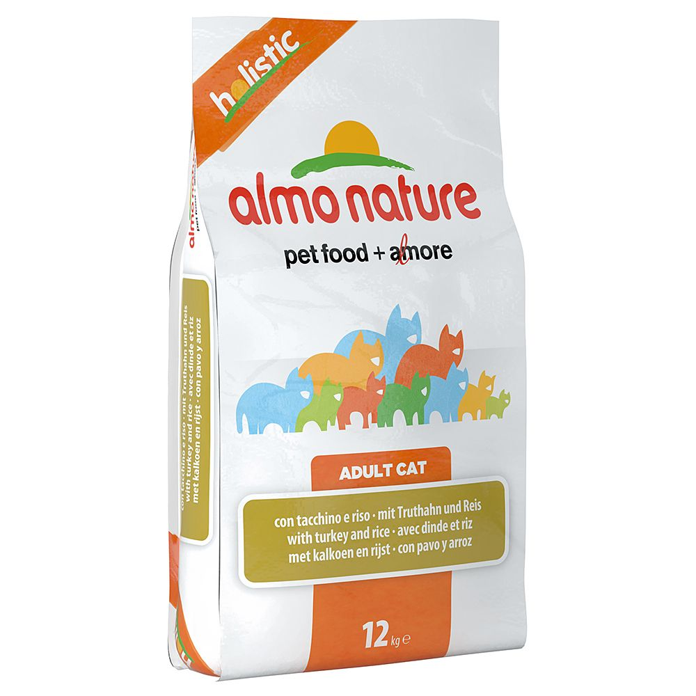 Almo Nature Holistic Economy Packs 2 x 12kg - Turkey & Rice