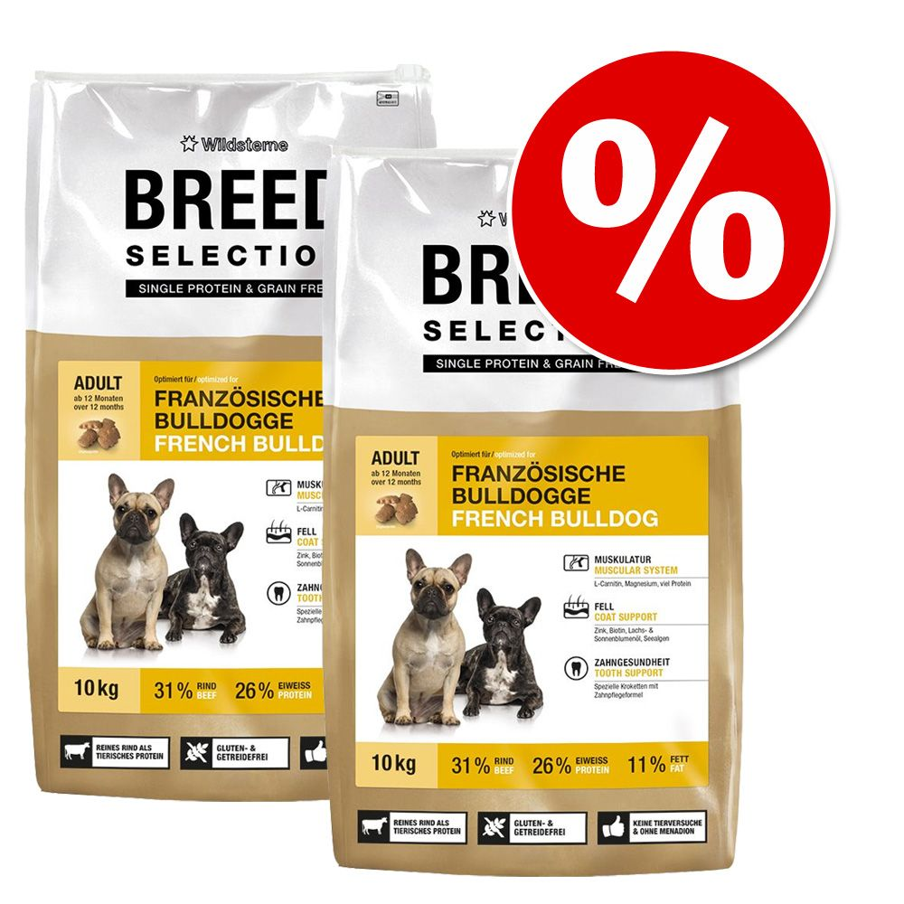 Doppelpack Wildsterne Breed Selection 2 x 10 kg...