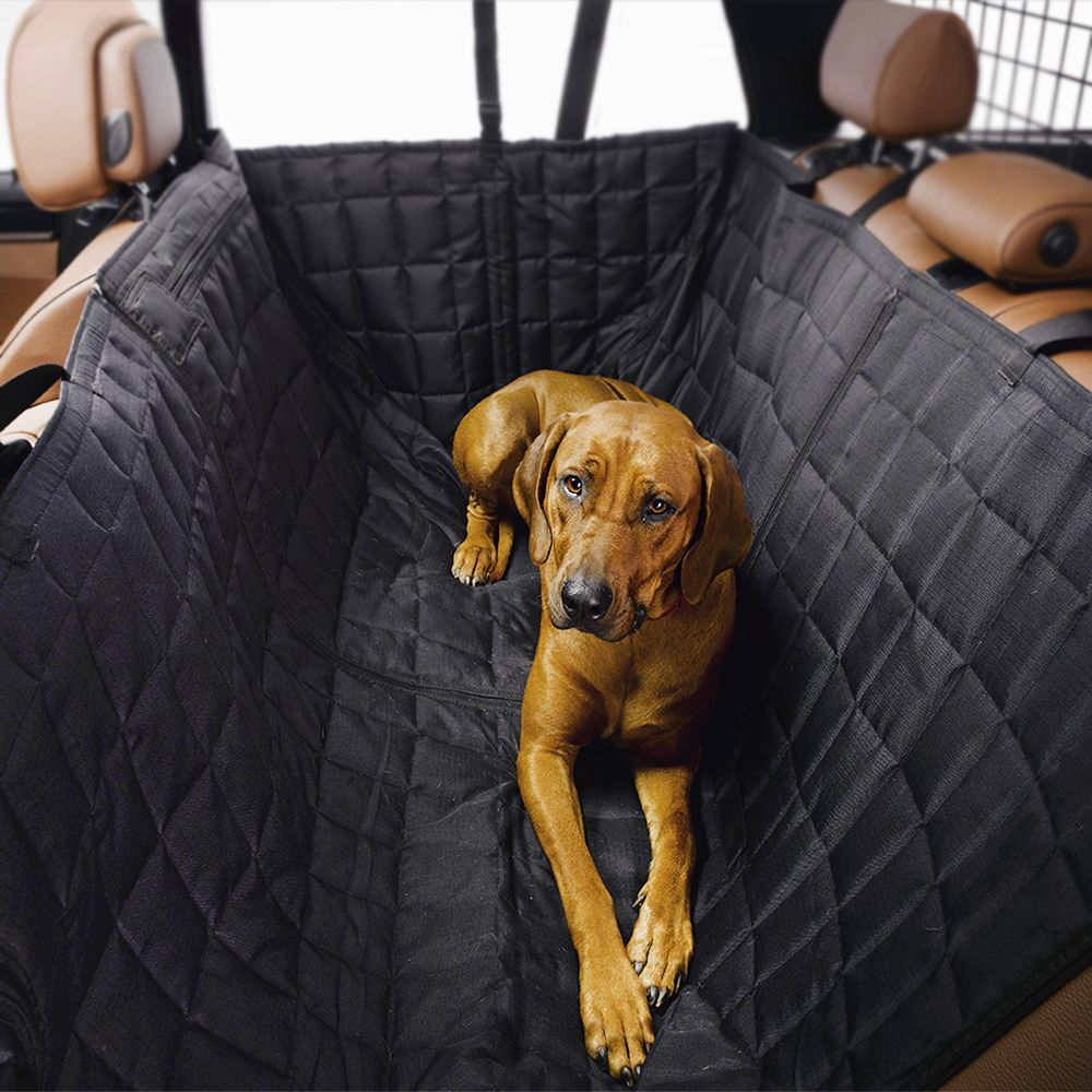 INOpets.com Anything for Pets Parents & Their Pets Kleinmetall Allside Comfort Car Seat Cover - Large gap-fill (full rear seat width)