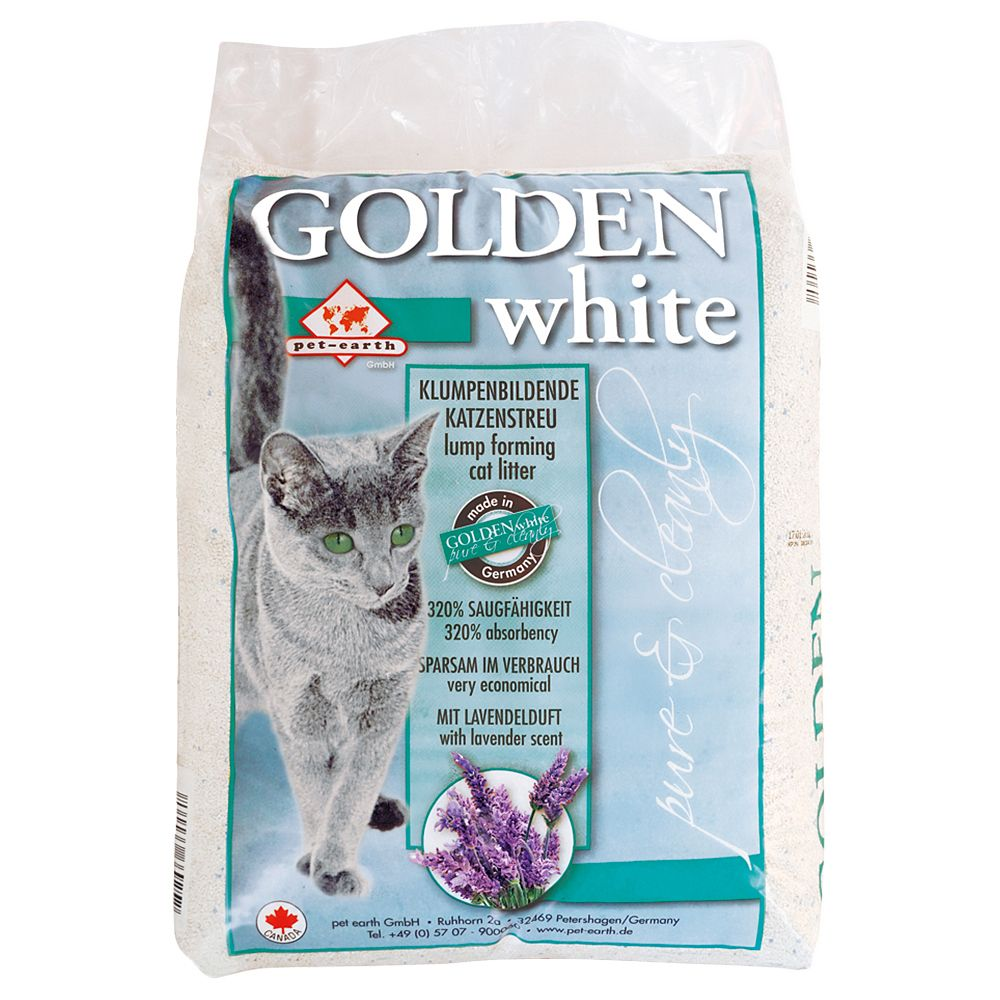 14kg Golden White Cat Litter