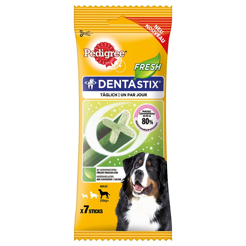 Pedigree Dentastix Fresh - Daily Oral Care - Large Dogs (112 Sticks)