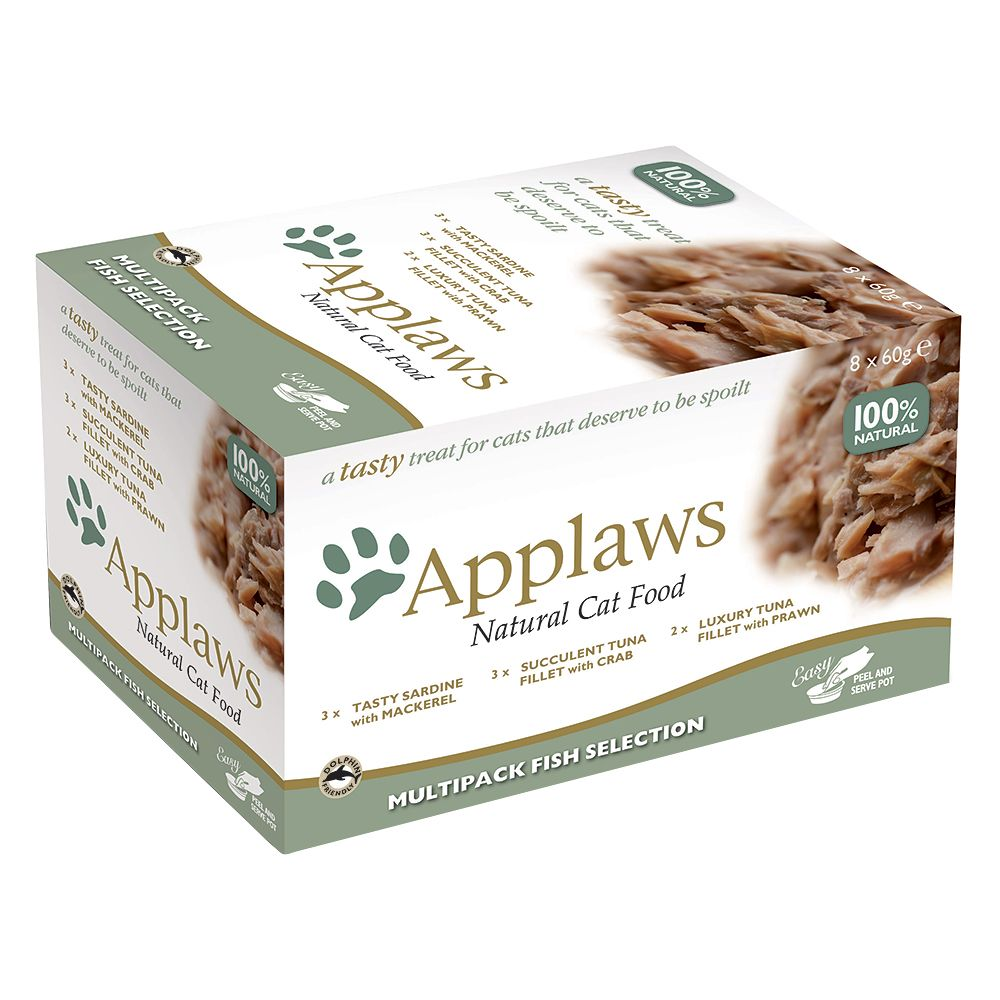 Applaws Cat Pot Mixed Multipack 60g - Chicken Selection 24 x 60g