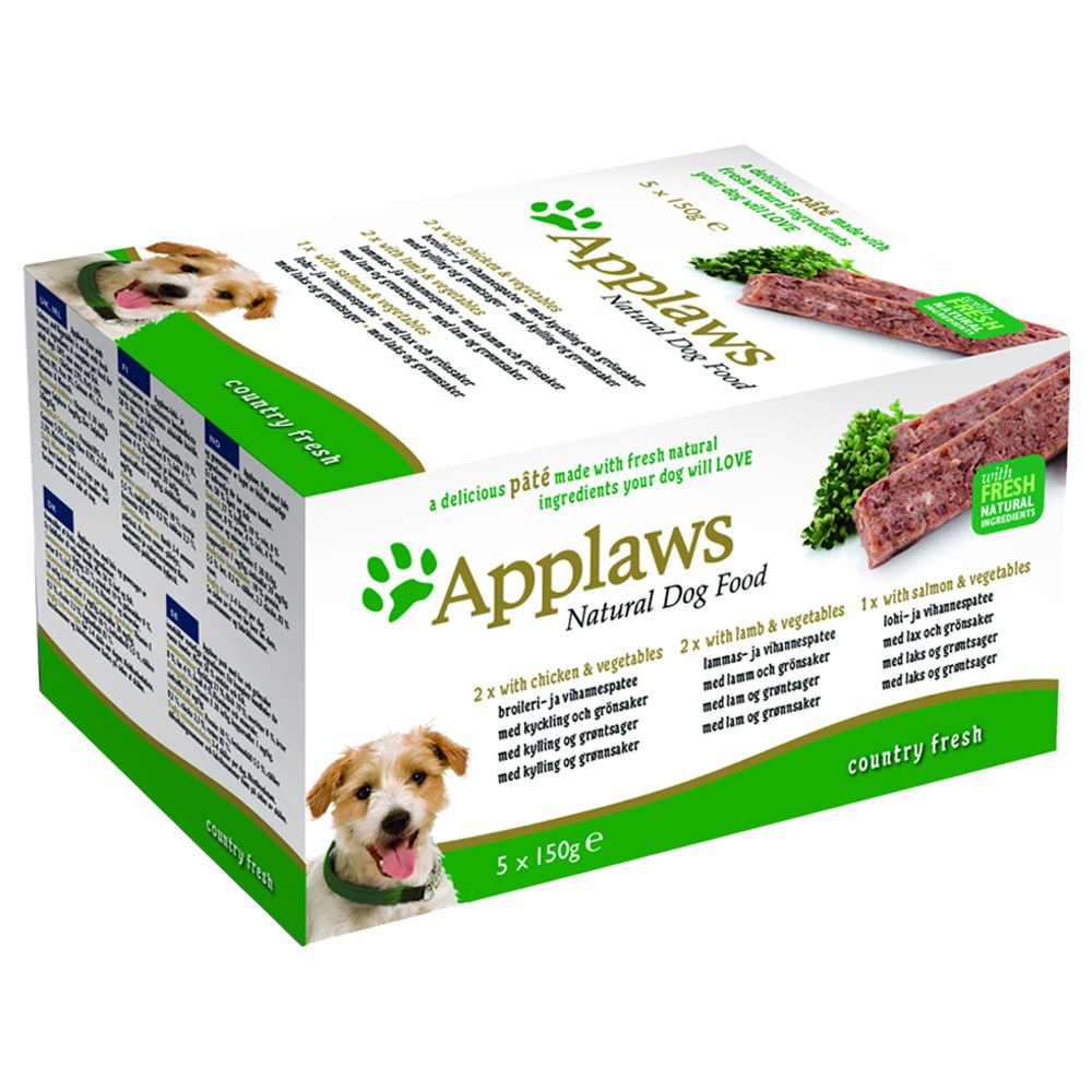Applaws Dog Pate Multipack 5 x 150g
