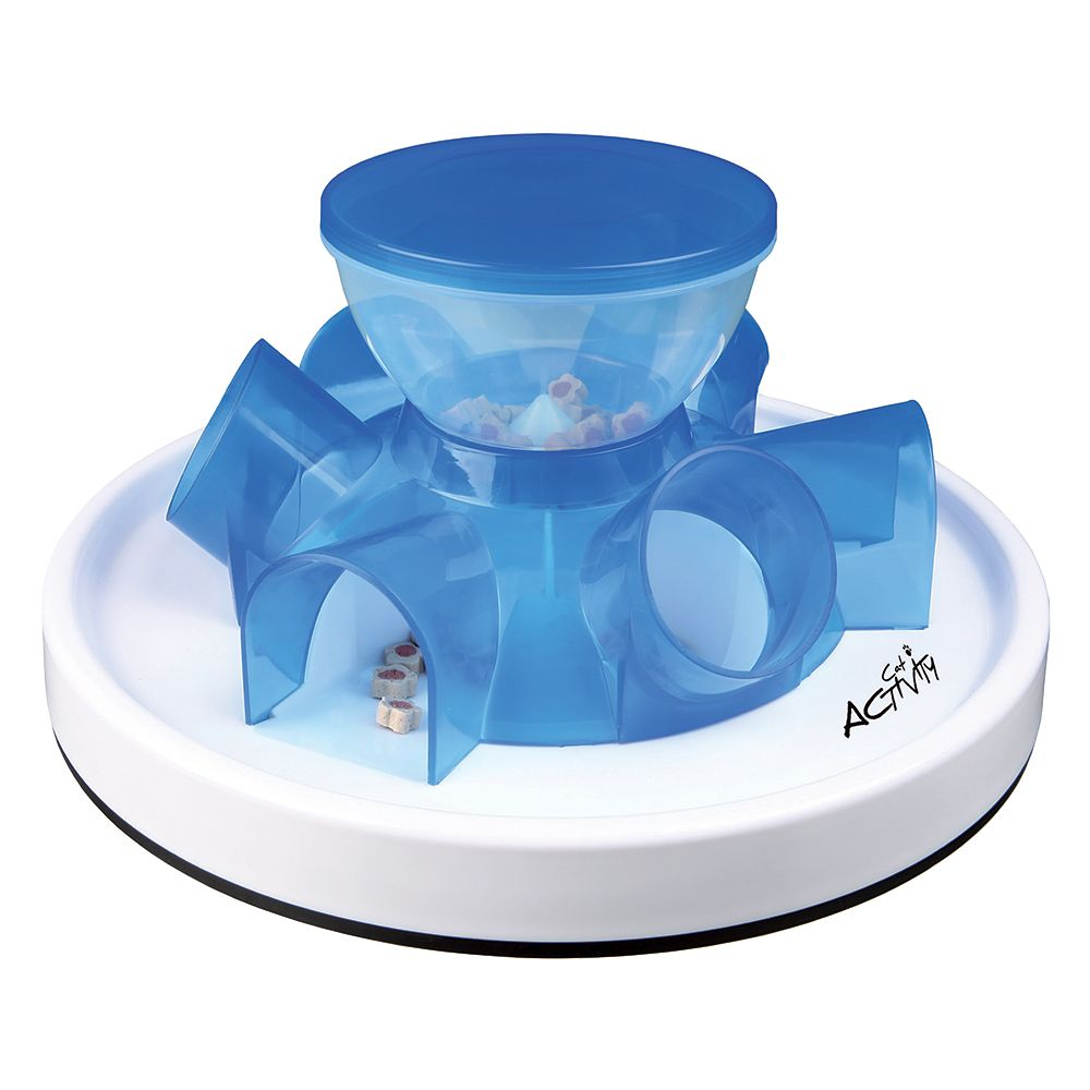 Trixie Cat Activity Tunnel Feeder - Diameter 28cm x H 14cm